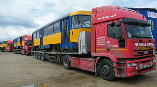Delivery of 30 trams for a project in Bulgaria