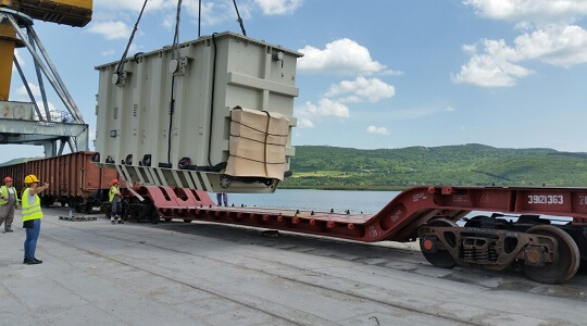 Delivery of 3 Power Transformers from Romania to Kazakhstan