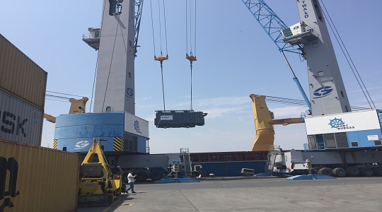 Delivery of 2 Power Transformers from Bulgaria to Egypt
