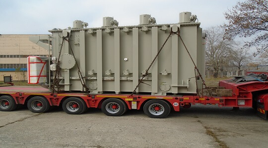 Delivery of a Power Transformer from the EU to Eastern Europe