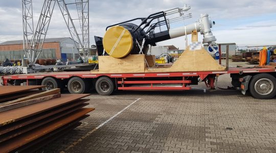 Delivery of 32x Pipeline-Modules to Greece